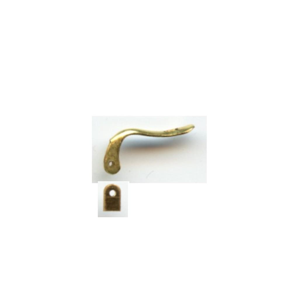 palillos oro fabricante fornituras joyeria cordoba ref. 360016