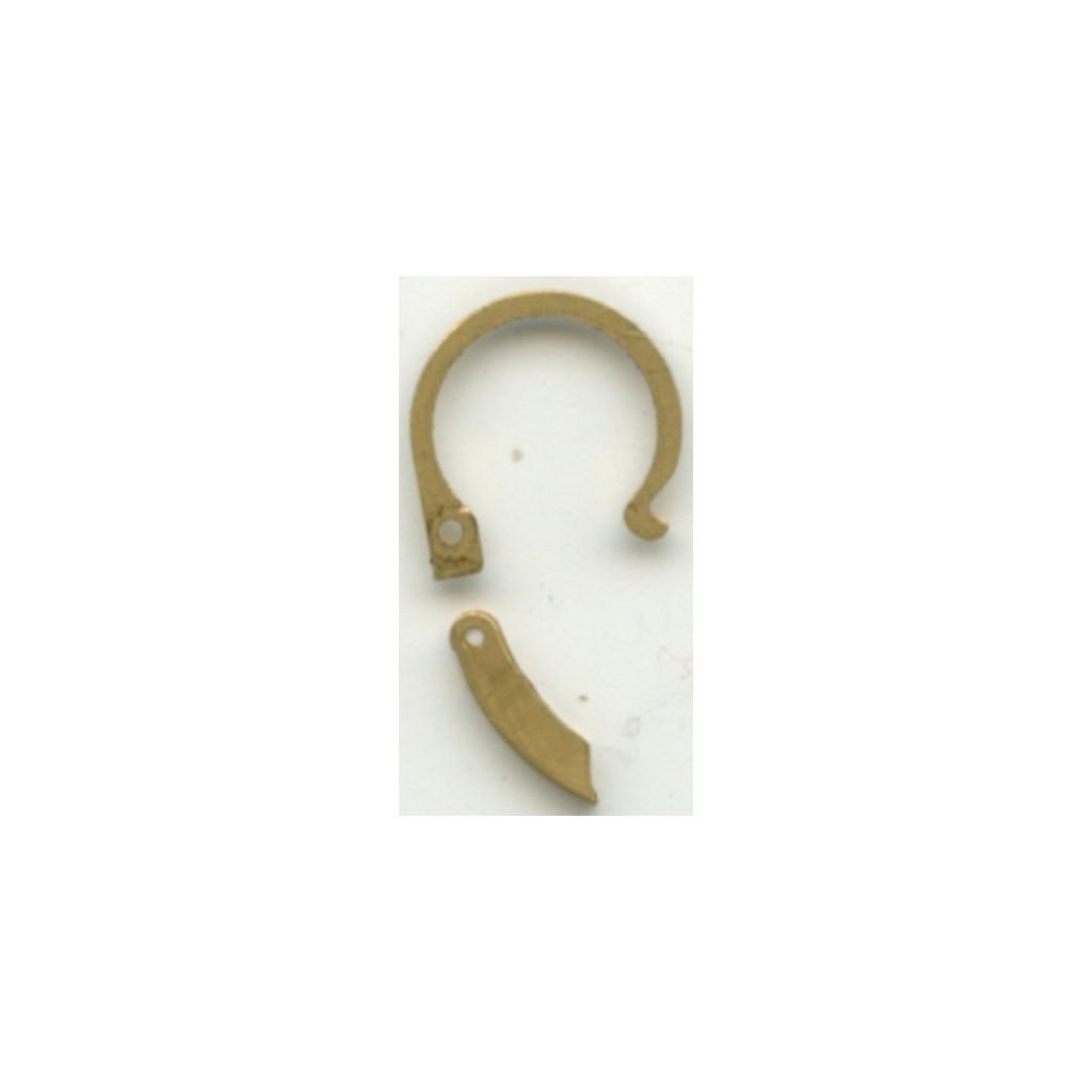 palillos oro fabricante fornituras joyeria cordoba ref. 360115